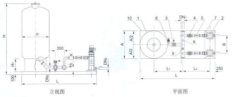 型号说明 1、ZQ-S(X)QB型系列生活消、防变频恒压给水设备由泵组、隔膜式气压罐、变频控制设备以及其他附助设施组成,应用于生活变频恒压供水,消防变频恒压供水等之用; 2、XZQ-GQB系列生活消防共用变频恒压给水成套设备由泵组、隔膜式气压罐、变频控制设备以及其他附助设施组成,应用于生活与消防合用变频恒压供水; 3、XZQ-S(X)QB型系列生活消防变频恒压给水成套设备由泵组、变频控制设备以及其他附助设施组成,应用于生活变频恒压供水、消防变频恒压供水待之用(无隔膜式气压罐); 4、XZQ-S(X)QB